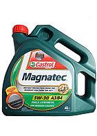 Синтетическое моторное масло Castrol Magnatec 5W30 А3/В4 4л, фото 1