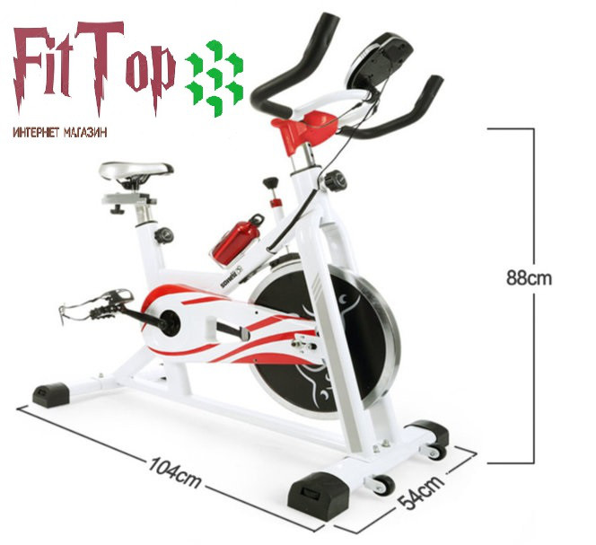 Велотренажер инерционный  Spin Bike YJ818