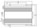Инвертор MeanWell TS-400 12В преобразователь DC/AC 12/220 , фото 2