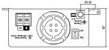 Инвертор MeanWell TS-400 12В преобразователь DC/AC 12/220 , фото 3