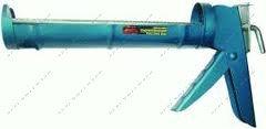 (23-1-002) Пистолет выдавливающий с зубчатым стержнем, синий