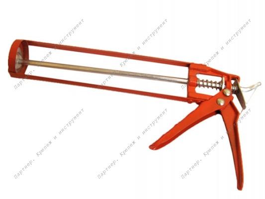 (23-1-003) Пистолет выдавливающий скелетный, красный