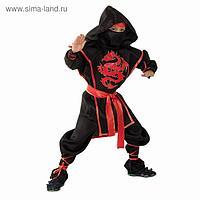 """Карнавальный костюм """"Ниндзя: Красный дракон"""", р-р 28, рост 104 см"""