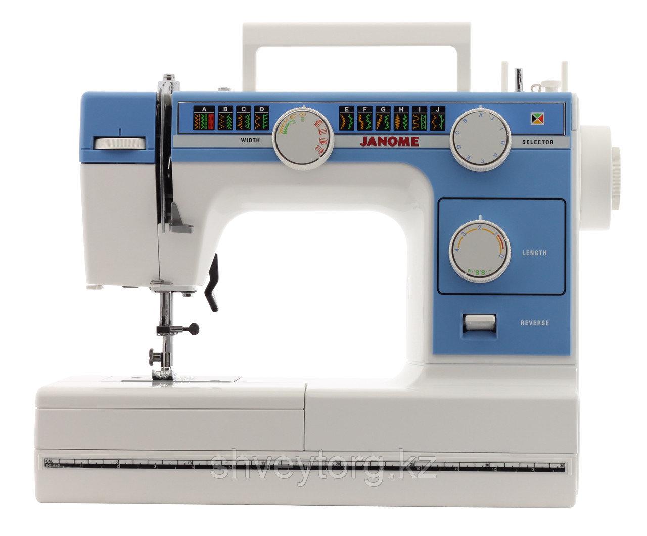 Бытовая швейная машина  Janome 395B