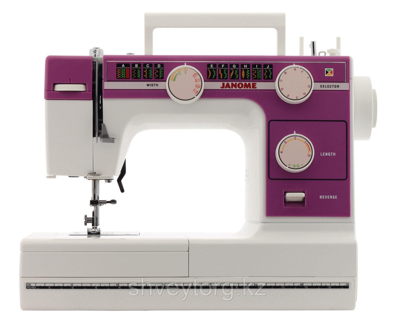 Бытовая швейная машина  Janome 391P