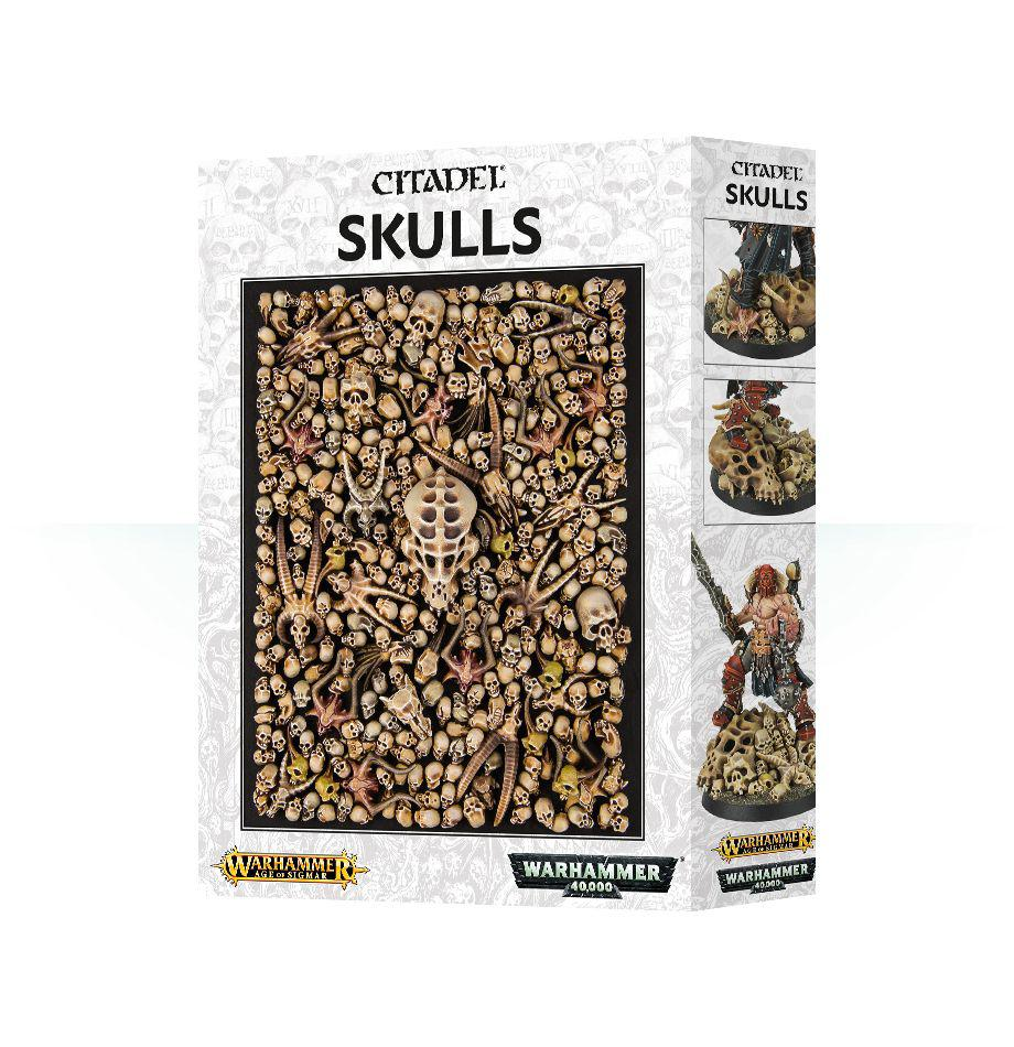 Warhammer: Асессуары: Черепа Цитадель (Citadel Skulls)