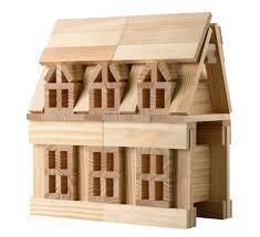 Строительные блоки деревянные
