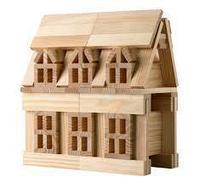Строительные блоки деревянные, фото 1