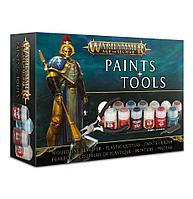 Warhammer Набор инструментов и красок Эра Сигмара