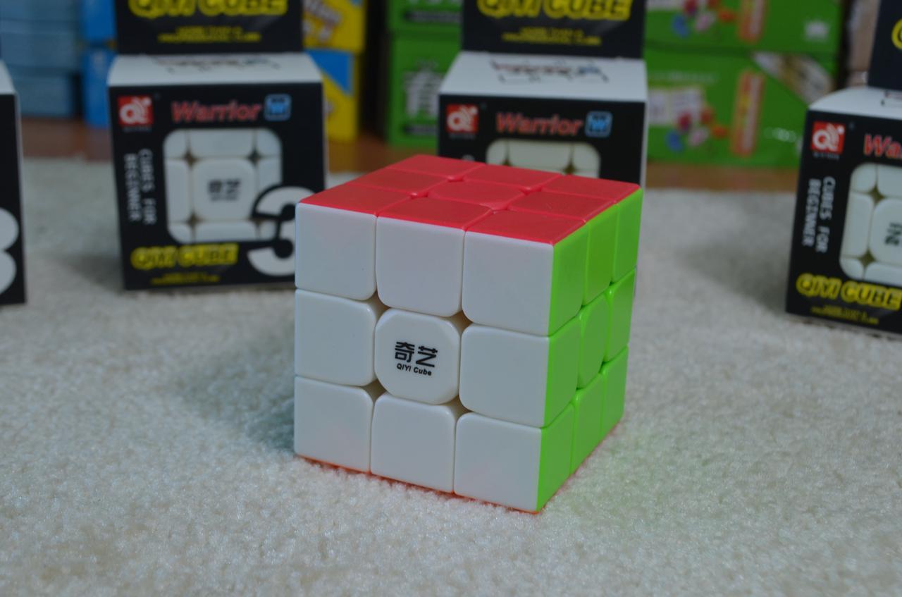 Кубик Рубик, без наклеек