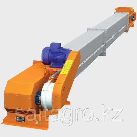 Транспортер (конвейер) зерновой скребковый ТС-25, ТС-50