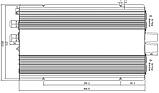 Инвертор MeanWell с байпасом и зарядным устройством TN-1500 24В , фото 2