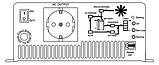 Инвертор MeanWell с байпасом и зарядным устройством TN-1500 24В , фото 3