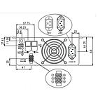 Инвертор MeanWell с байпасом и зарядным устройством TN-1500 24В , фото 4