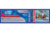 Бумага рулонная для плоттера 190г/m2, 914mm*30m*50.8mm Super Glossy Photo Paper L1201032