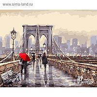 "Рисование по номерам ""Мост во время дождя"" 40х50 см"