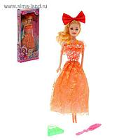 """Кукла модель """"Красотка с бантом"""", МИКС"""