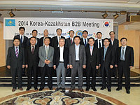 Korea & Kazakhstan Be2Be meeting in RoyalTulip Almaty -19.11.2014