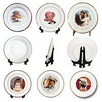 Нанесение на тарелку. Фото на тарелку керамическая. Изображение на тарелку