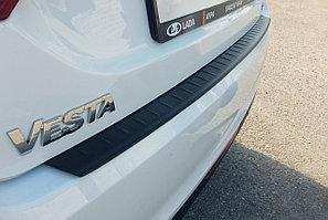 Накладка на задний бампер (ABS) LADA Vesta 2015-