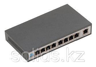 Коммутатор 8 PoE (802.3af) портов 100Мб/с, 1 Uplink порт 100Мб/с, 120Вт