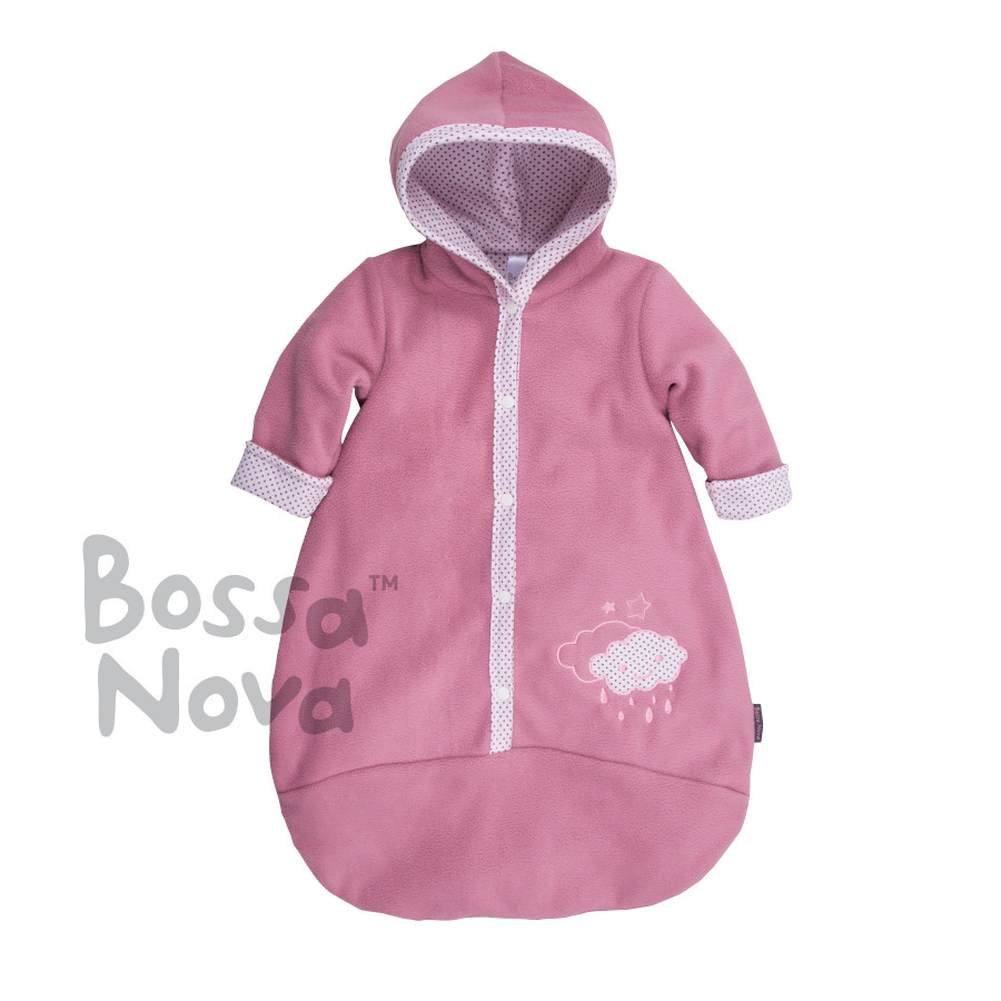 """Конверт для новорожденного """"Сладкая вата"""" розовый"""