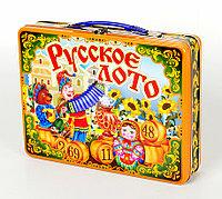Русское лото в жестяном чемоданчике «Скоморохи», фото 1