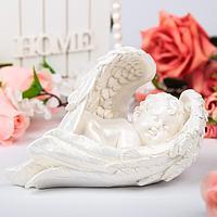 """Статуэтка """"Ангел в крыле"""", средняя,20 см × 14 см × 10 см, фото 1"""