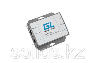 Инжектор PoE GIGALINK, 100Мбит/с, 802.3af