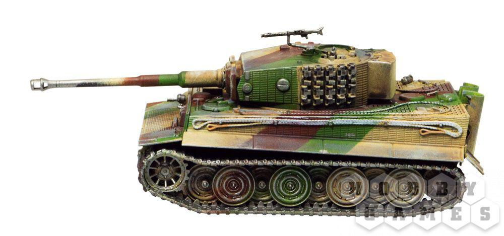 World of Tanks. Pz.Kpfw.VI TIGER 1. Масштабная модель 1:56 (Сборный танк) - фото 5