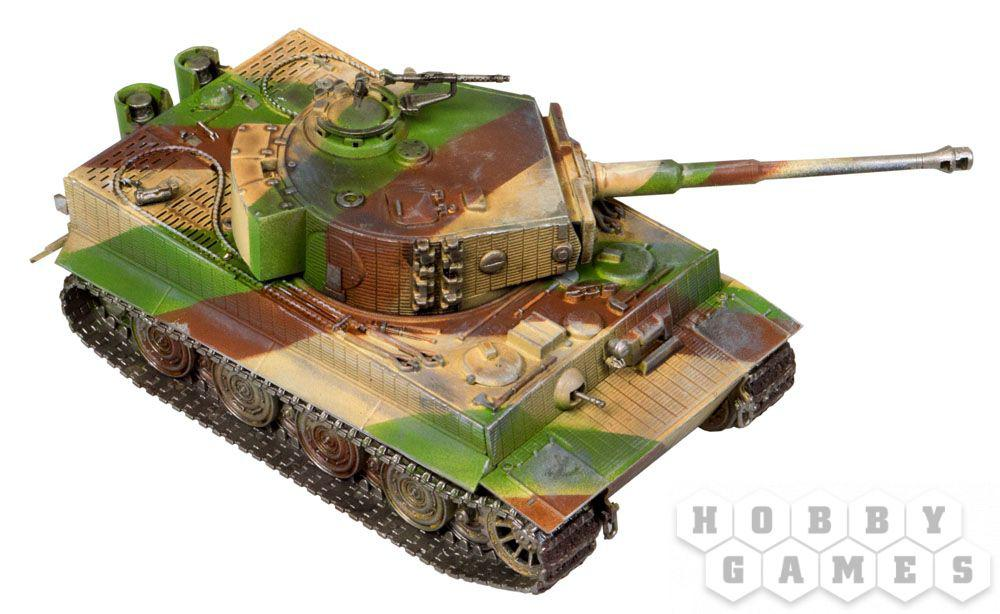 World of Tanks. Pz.Kpfw.VI TIGER 1. Масштабная модель 1:56 (Сборный танк) - фото 2