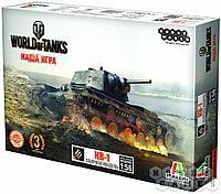 World of Tanks. КВ-1. Масштабная модель 1:56