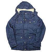 Зимние куртка Джинсовая