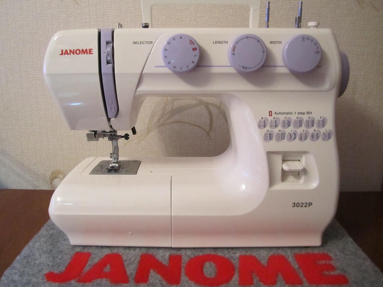 Швейная машинка Janome 3022 Р