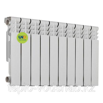 Алюминиевый радиатор UNO-BEST 350/80 (10 секц.), фото 2