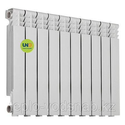 Алюминиевый радиатор UNO-BEST 500/80 (10секц), фото 2