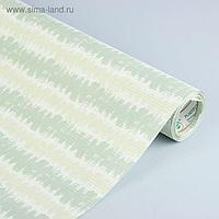 """Бумага упаковочная крафт """"Береста"""", серо-мятный, 0.5 х 10 м"""