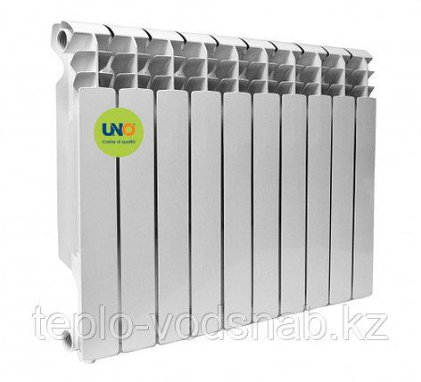 Алюминиевый радиатор UNO-KARTELLO 500/100 (10секц), фото 2