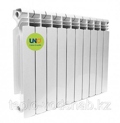 Алюминиевый радиатор UNO MONZA 500/100 (10секц), фото 2