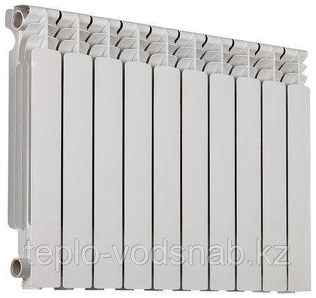 Алюминиевый радиатор Ресурс 500/100 (10 секц), фото 2