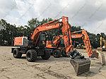 Оригинальные фильтра на колесный экскаватор HITACHI серии ZX W со склада в городе Алматы