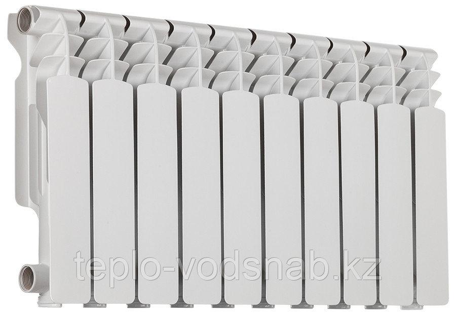 Алюминиевый радиатор Алюрад 350/100 (10 секц)