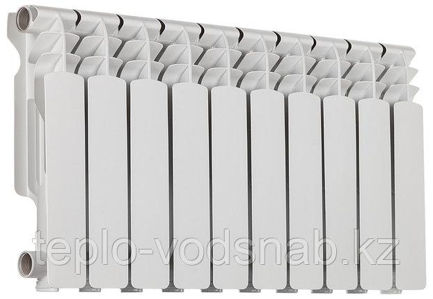Алюминиевый радиатор Алюрад 350/100 (10 секц), фото 2