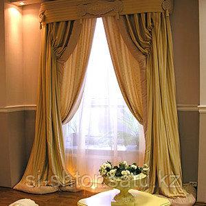 Эксклюзивный дизайн штор,индивидуальный пошив и установка. - фото 2