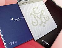Изготовление блокнотов с логотипом , печать блокнотов, блокноты заказать Астана, фото 1