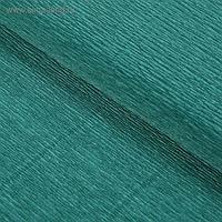 """Бумага гофрированная, 960 """"Тёмно-зелёная"""", 0,5 х 2,5 м"""