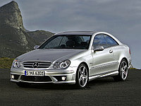 Обвес AMG (Plastic PP) на Mercedes-Benz CLK W209