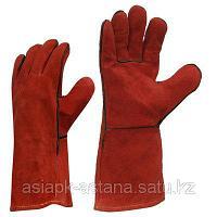 Перчатки сварщика замша