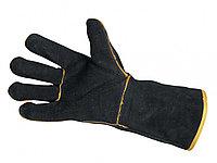 Перчатки сварщика брезент