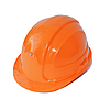 Каска строительная (оранжевая) Россия